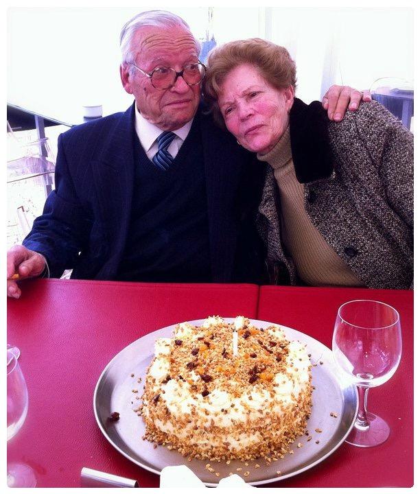 Avós Tânia Ribas de Oliveira