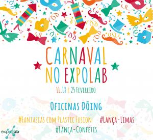 O Nosso T2 Blog Agenda Pumpkin Expolab Carnaval Cartaz