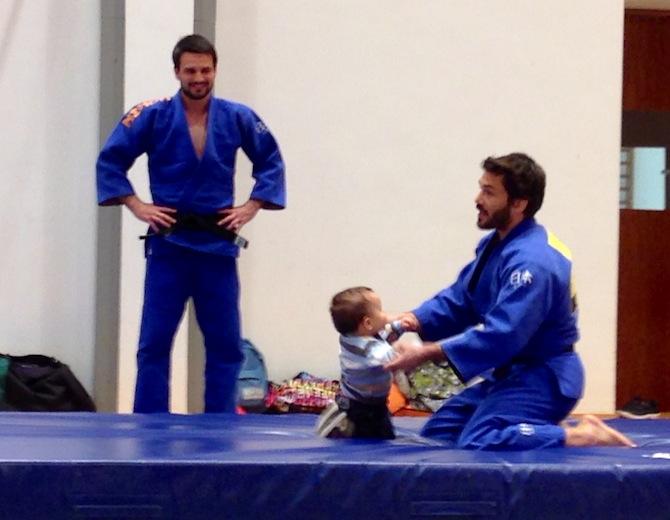 Os 2 e o judo