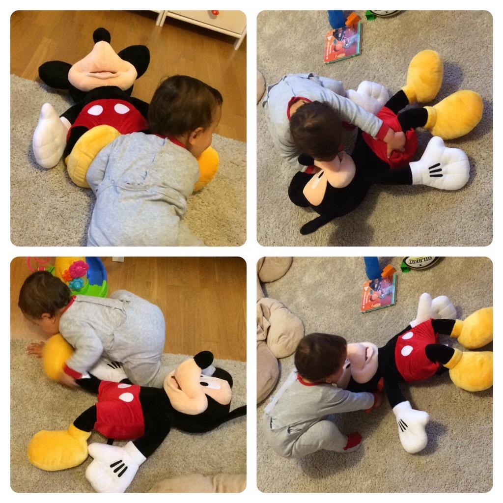 O Mickey foi ao tapete!