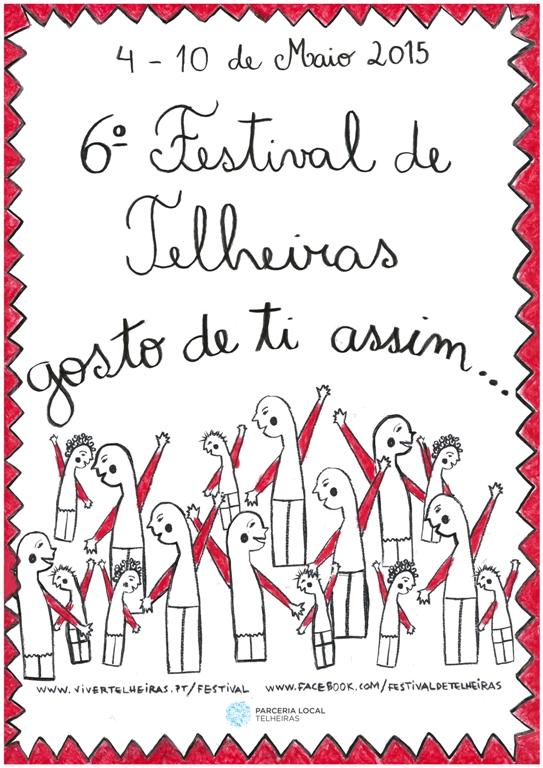 Programa em família no Festival de Telheiras