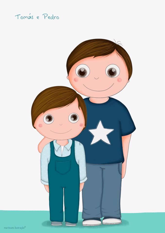Pelos olhos do Pedro e do Tomás
