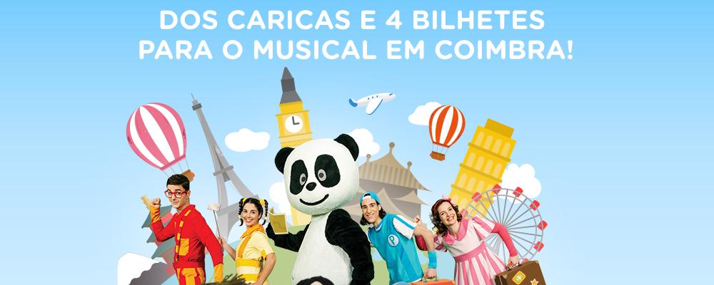 Passatempo – Musical do Panda e os Caricas