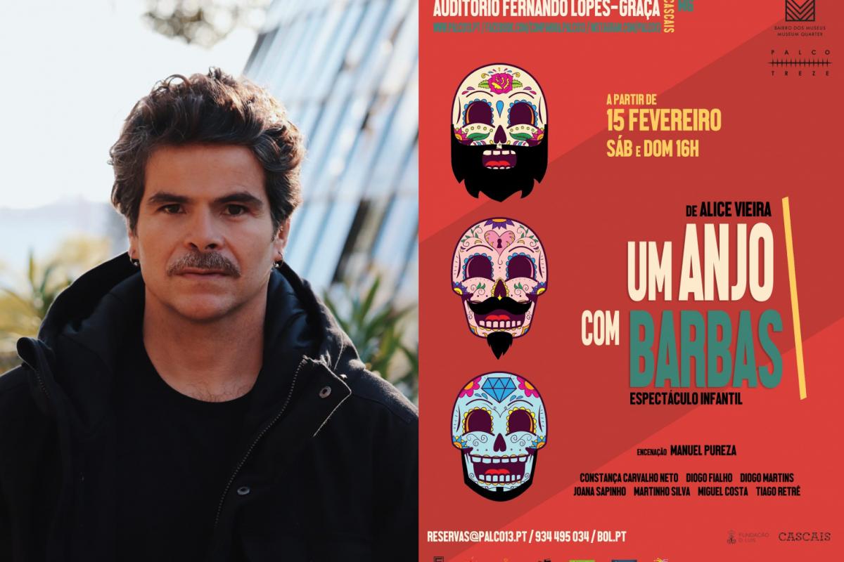 """Este sábado estreia """"Um Anjo com Barbas"""", com Miguel Costa."""