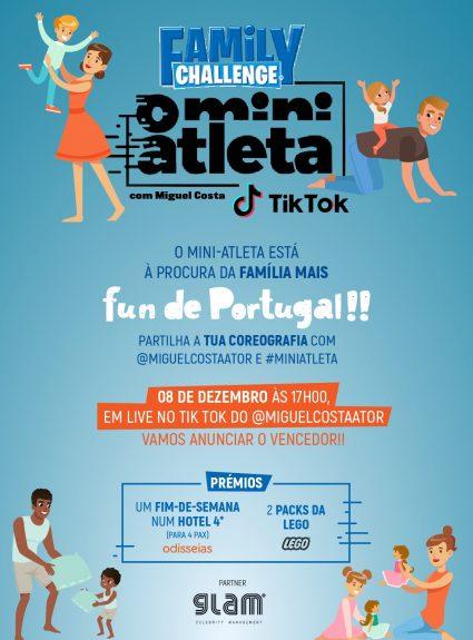 Family Challenge O Mini Atleta com Miguel Costa