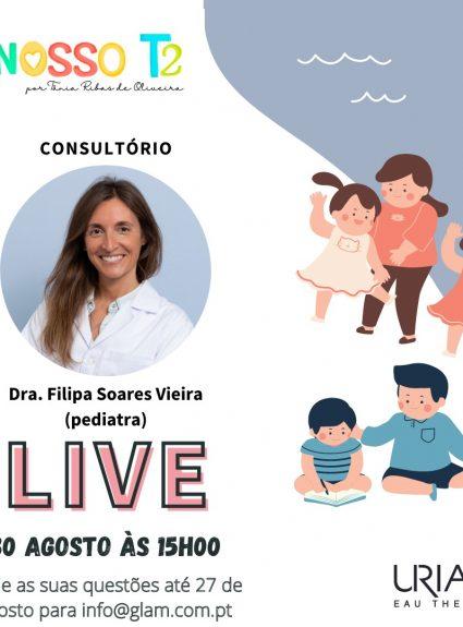 O NOSSO T2 de Tânia Ribas de Oliveira & URIAGE  com Aconselhamento Pediátrico Online